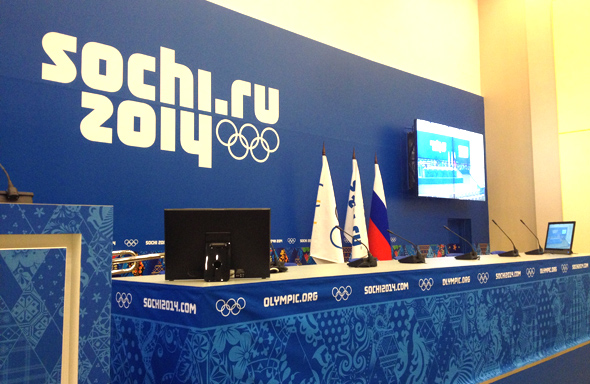 NEW PROJECT: THE MAIN MEDIA CENTER AT SOCHI OLYMPICS
