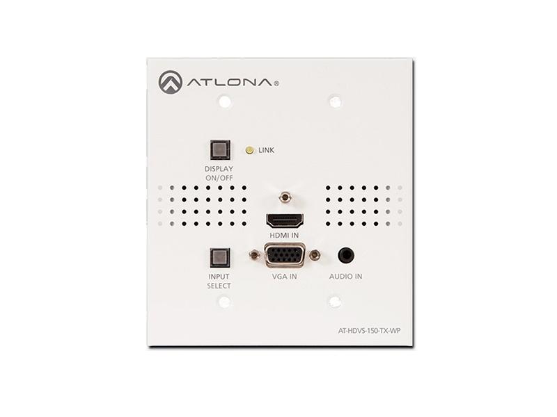 Коммутатор 2х1 с двумя входами HDMI и входом VGA и выходом HDBaseT