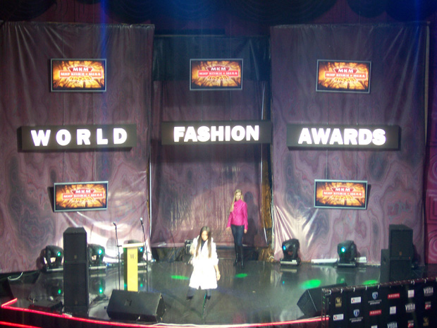 World Fashion Awards 2008. Клуб Рай, г. Москва