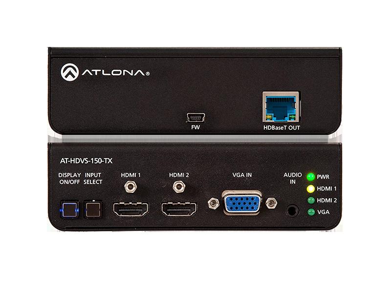 Коммутатор HDMI и VGA с выходом на HDBaseT
