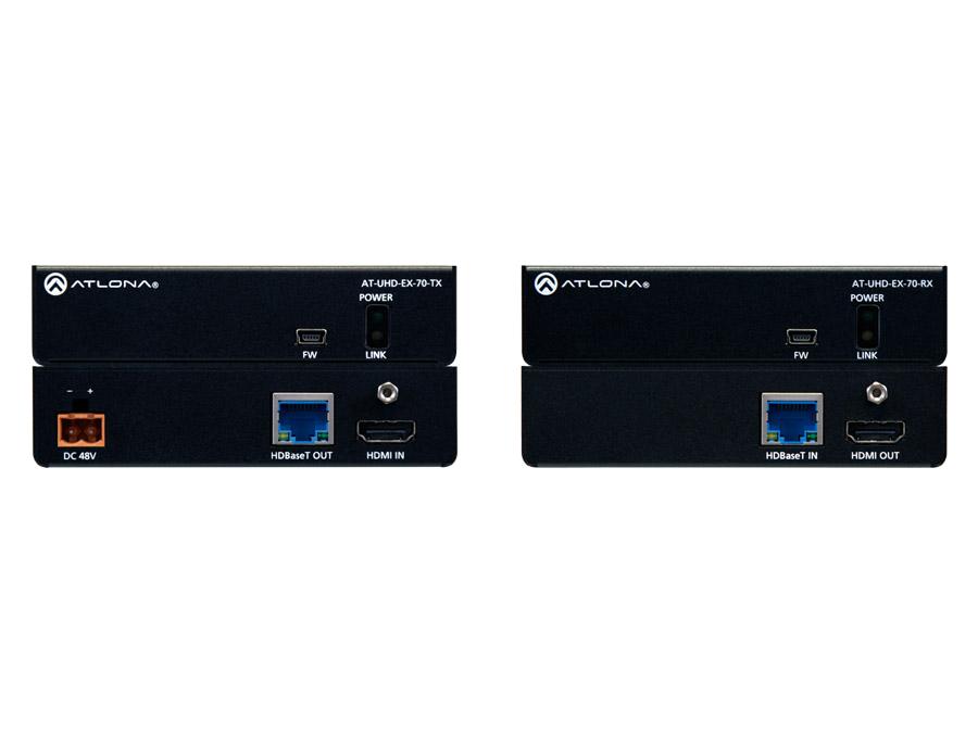 4K/UHD HDMI по HDBaseT комплект с PoE