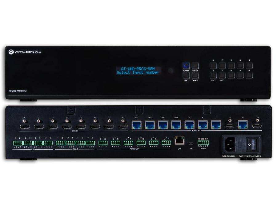 4K/UHDМ 8 на 8 HDMI Матричный Коммутатор