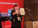 На вручении наград ProIntegration Awards 2014 Polymedia забрала приз за Лучший AV проект для спорта