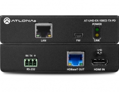 Передатчик HDMI по HDBaseT с Ethernet, управлением и PoE до 100 м AT-UHD-EX-100CE-TX-PD