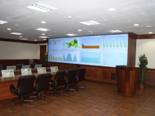 Situation Center of Atyrau Region, Kazakhstan