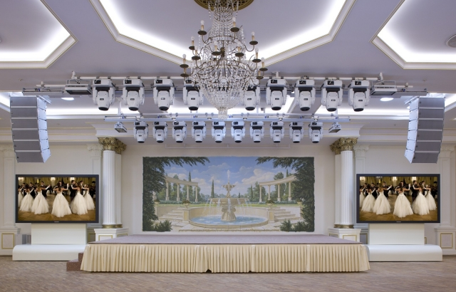 Audiovisual set  implemented by Polymedia JSC  under Ukraine hotel modernization