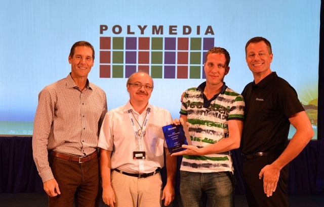 Polymedia Recognized by Lifesize as the Reseller of the Year 2014