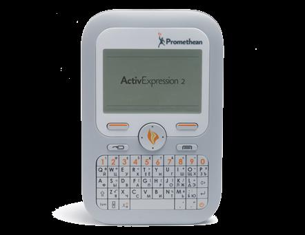 Система голосования и тестирования  ActivExpression Cyrillic